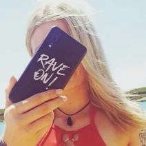 Rave On! Handyhülle für Samsung